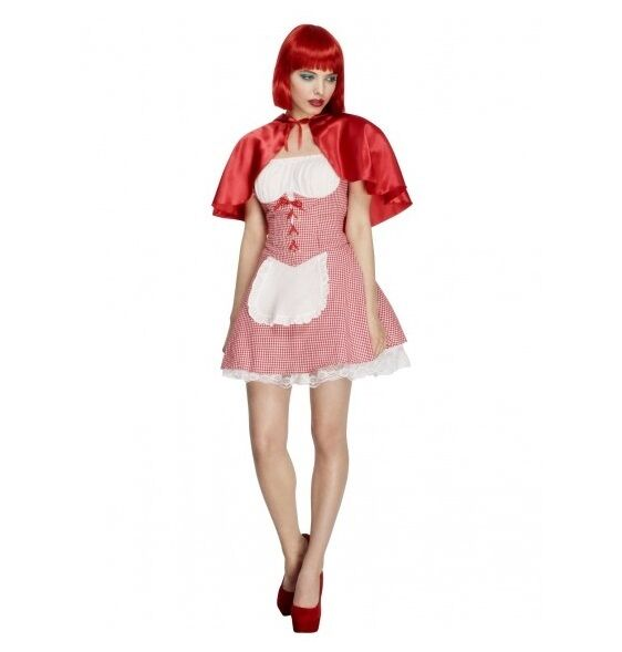 LADIED LITTLE RED RIDING HOOD PARTY COSTUME - MELBOURNE LOCATION
