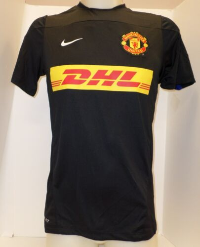 Nike Manchester United FC Squad Training Jersey Black 545034-011