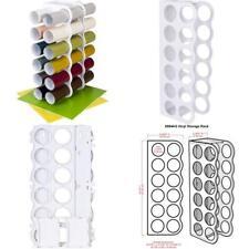 12 Vinyl Rolls ArtBin Storage Rack Stores White