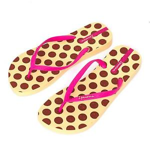 a0e298f50648fe Ipanema Women s flip flops Rubber Sandals thong Brazil Beach Yellow ...