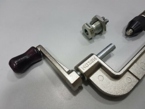 2019 Hozan C-702-14 C-702 Spoke Threading Tool Spoke Thread Casher Made In Japan