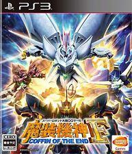 Super Robot Taisen OG Saga Masou Kishin F PS3 Bandai Namco Sony Playstation 3