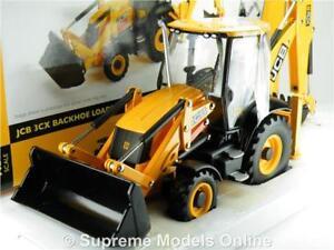 Britains 42702 Jcb 3cx Backhoe Loader Model 1 32 Size