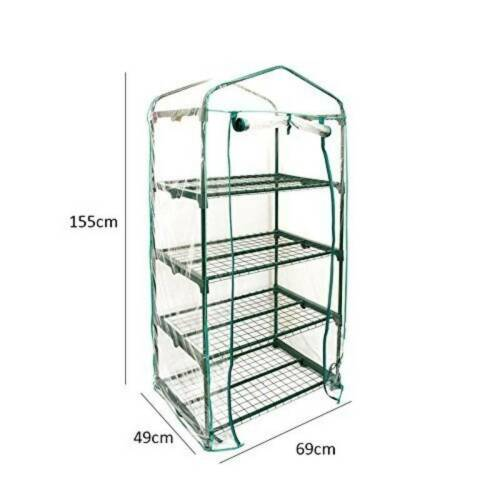 Greenhouse Mini Outdoor Growbag Growhouse Plastic Garden// Free shipping