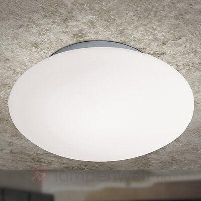 Deckenleuchte OPAL Rund Deckenlampe Glasdeckenlampe Glaslampe Beleuchtung