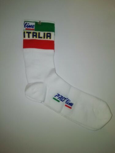 1 Paio Calze Calzini Ciclismo PRO/' line Tricolore Bia Cycling Socks Size 38//43