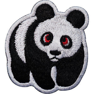 Sew On Patch Clothes Jacket T Shirt Jeans Bag Hat Badge Panda Embroidered Iron