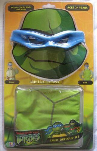 LEO OR RAPHAEL MASK /& SHELL KIDS CHILD Costume Dress Up ~ TMNT Ninja Turtles