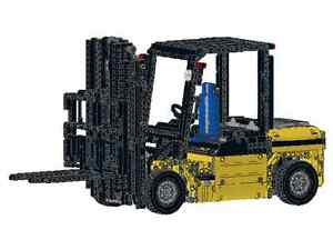 Bauanleitung Gabelstapler Rc Stapler Eigenbau Unikat Moc Aus Lego
