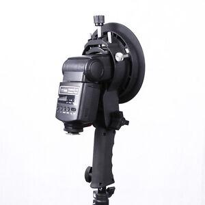Handheld-presa-S-tipo-Bowens-Montare-Titolare-per-Speedlite-Veloce-Softbox