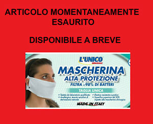 mascherine antipolvere made in italy