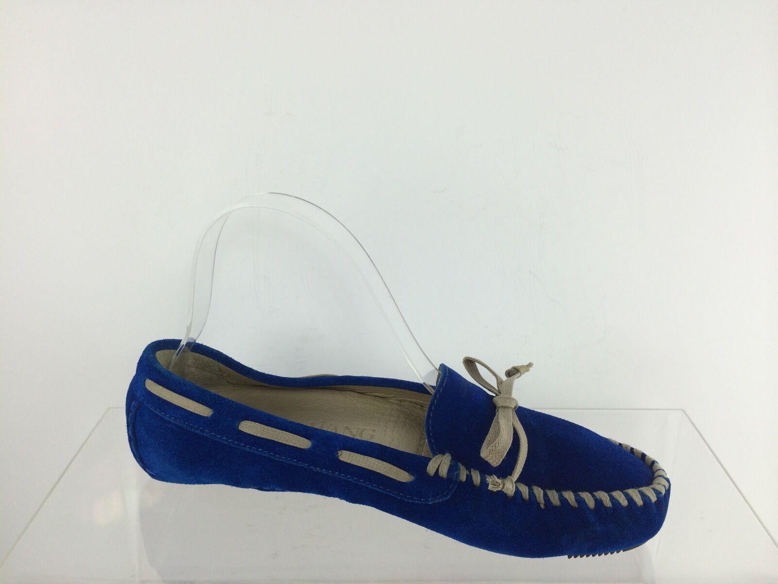 Vera Wang Damenschuhe Damenschuhe Damenschuhe Suede/Leder Blau Shooes 6 M 90afb8