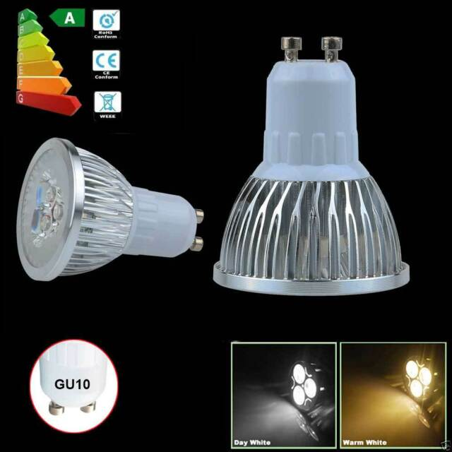 GU10 LED Spot Light Bulb Home Indoor Lamp 9W Power Save 3x3W Cool/Warm White