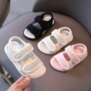 Boys Girls Child Walk Sneaker Sandal Baby Toddler Kid Summer Soft Casual Shoes