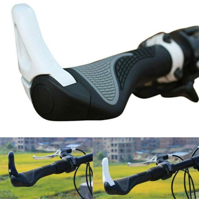 2PCS Soft Bike Silicone Anti-slip Handlebar Grips Mountain MTB Bicycle Cycling