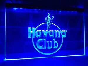 Havana club rum led neon light sign bar pub decor club home beer image is loading havana club rum led neon light sign bar mozeypictures Image collections
