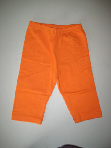 Cotton Spandex Bike Shorts Leggings Bermuda Bright Colors Ages 2 to 8