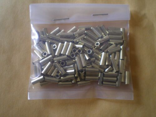 TEST #50L .096 I.D. 50 BRASS WIRE LEADER CRIMP SLEEVES GOOD FOR 90,135,170 LBS