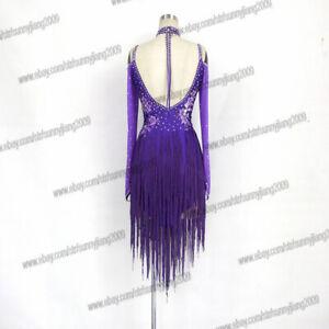 c3bd734ae8db Image is loading Handmade-Dance-Dress-Standard-Ballroom-Competition-Dress -Modern-
