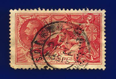 1934 Sg451 5s Bright Rose-red N74 22 Ju 38 Fair Used Cat £85 Cllw