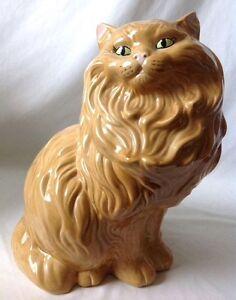 Black Ceramic Cat Statue