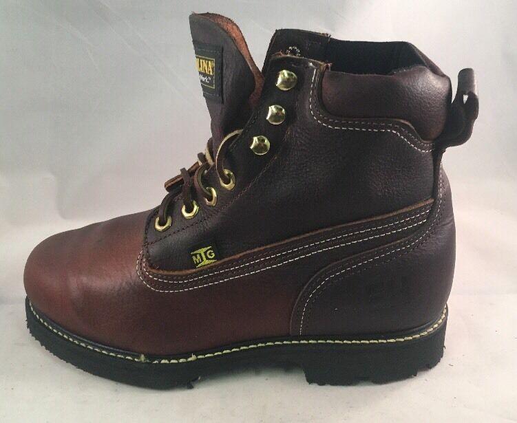 Carolina 509 Steel Toe Internal Met-guard Men's Size 7 2E