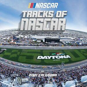 2021 Tracks of NASCAR Wall Calendar 619344350773 | eBay