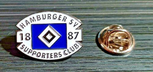 Maße 21x16mm Hamburger Sportverein HSV Pin Supporters Club lackiert