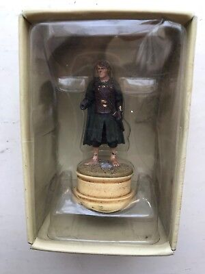 MAGAZINE LORD OF THE RINGS CHESS COLLECTION ISSUE 25 MERRY EAGLEMOSS FIGURE