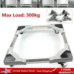 Movable-Base-Bracket-Stand-Wheels-For-Washing-Machine-Refrigerator-Undercarriage