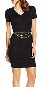Jeans Size Dress Black 42 Versace It 10uk Women's BPqIwBacd