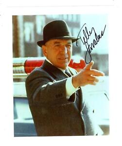 TELLY-SAVALAS-AUTOGRAPHED-8X10-COLOR-PHOTO-REPRINT-FREE-SHIPPING