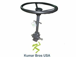 Details about New Kubota Tractor Steering Box Assy with Steering Wheel  B6100 B7100 (NON HST)