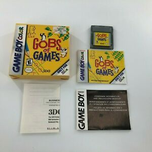 Gobs of Games (Nintendo Game Boy Color, 2000) Trsted and work- Complete in Box
