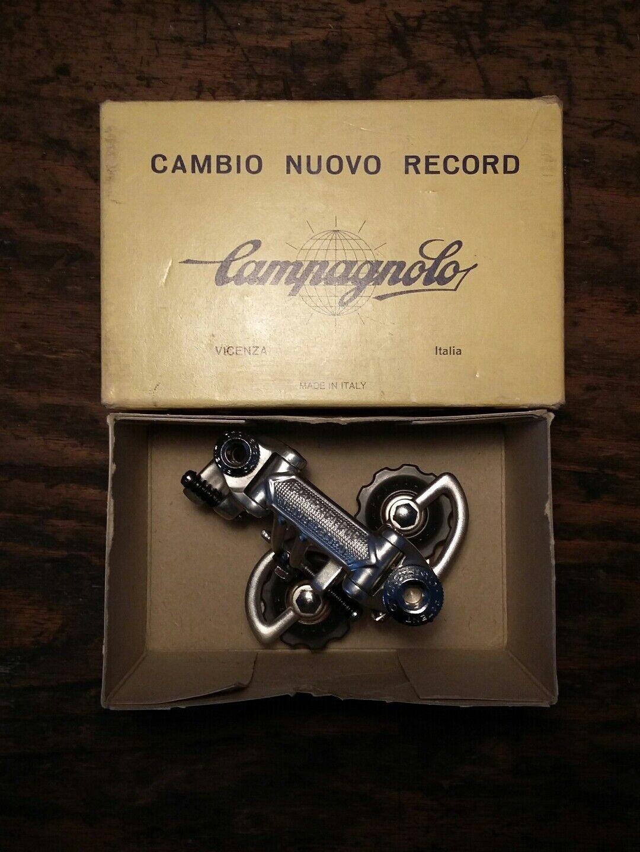 Campagnolo Schaltwerk Nuovo Record NOS NIB Pat. 11 from 1985 Rear Derailleur