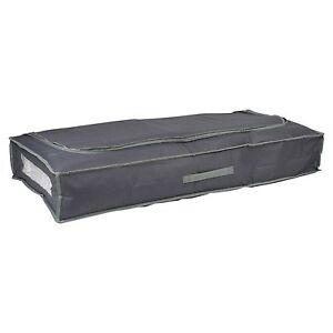 2x-Premium-Large-Dark-Grey-Underbed-Storage-Clothes-Duvet-Organiser-Fabric-Bag
