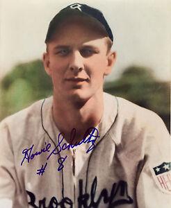 Howie Schultz MLB Brooklyn Dod...