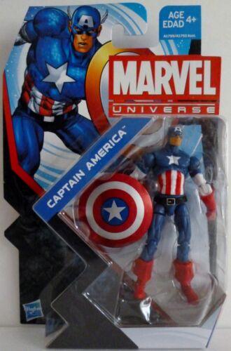 "CAPTAIN AMERICA Marvel Universe 4/"" inch Action Figure #4 Series 5 2013"