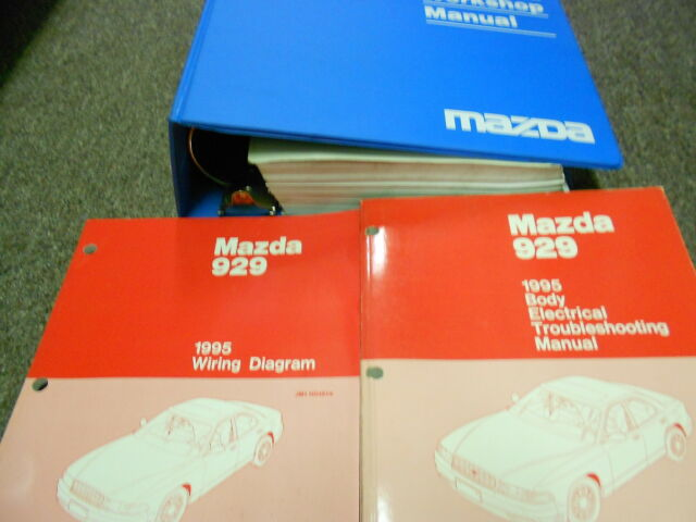 1995 Mazda 929 Service Repair Shop Workshop Manual Set Oem