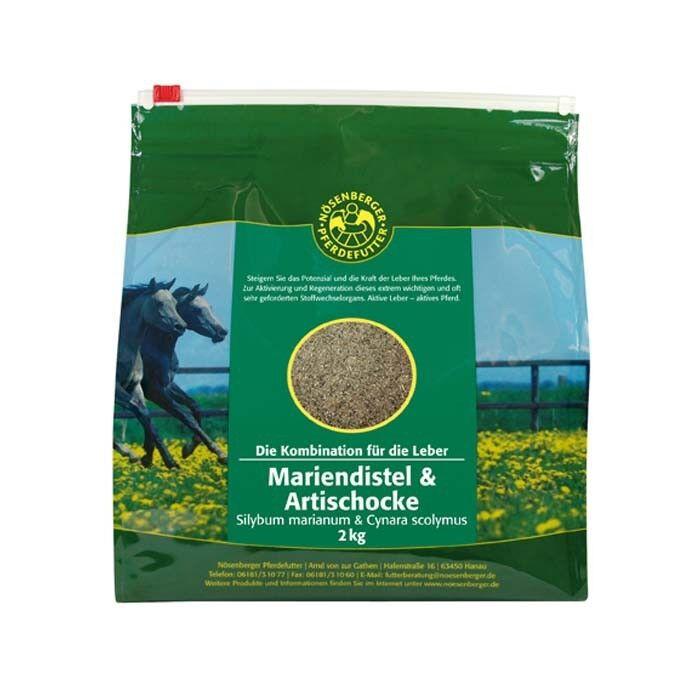 Nösenberger Mariendistel Pferdefutter + Artischoke 10kg Leber Pferd Pferdefutter Mariendistel Stoffwechsel 023c33