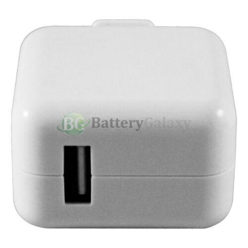 USB RAPID Travel Battery Wall AC Charger Adapter for Apple iPad Mini 1 2 3 4 Air