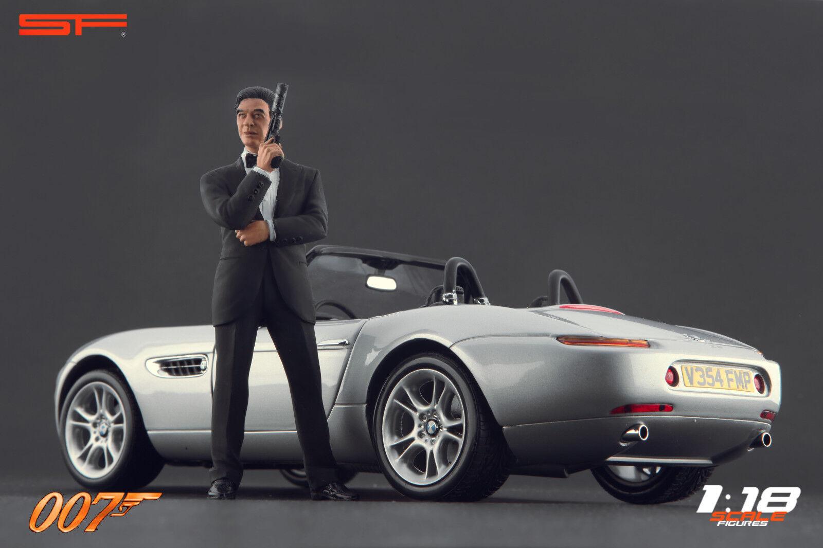 1/18 James Bond 007 Pierce Brosnan Muy Raro Figuras Para  Autoart CMC