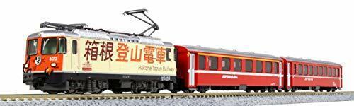 Kato 10-1514 RhB Ge4 4-II 622 'Hakone Tozan Railway' mit EW I 3 Cars scale N