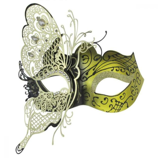 Coddsmz Mysterious Venetian Butterfly Lady Masquerade Halloween Party Mask