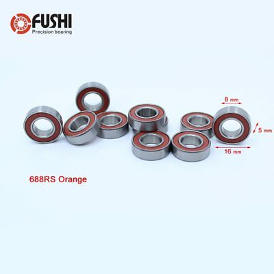 Qty.2 688-2RS Premium 688 2rs seal bearing 688 ball bearings 688 RS ABEC3