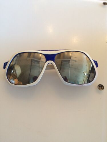 Vintage 1970 White Mirrored Droopy Dog Sunglasses