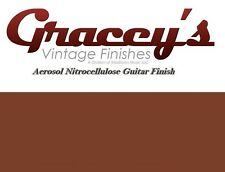-Tobacco Brown- Gracey's Vintage Finishes Nitrocellulose Guitar Lacquer Aerosol.