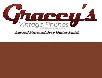 Gracey/'s Vintage Finishes Nitrocellulose Guitar Lacquer Aerosol. Sealer