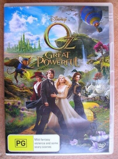 OZ THE GREAT AND POWERFUL dvd REGION 4 disney NEW SEALED james franco  2013