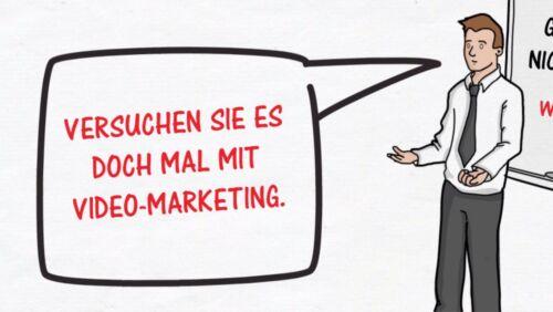 Mehr Umsatz durch Whiteboard Werbevideo Erklärvideo Videomarketing Werbefilm